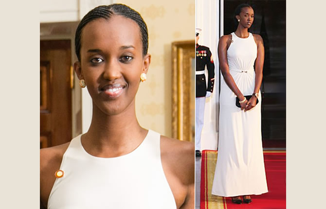 The most beautiful daughters of african presidents series : numer 2 Ange Kagame (Rwanda)
