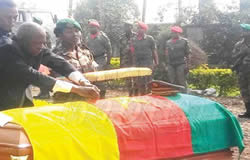 Cameroon: Slain Gendarmerie Officer Buried in Buea