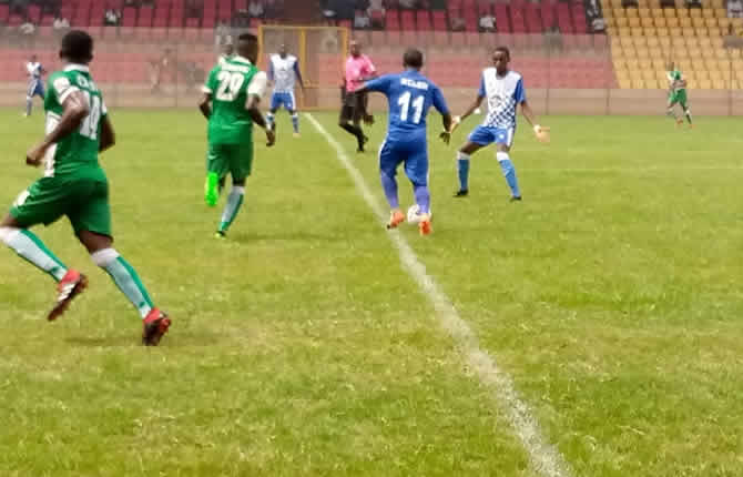 Eding sport bat PWD de Bamenda en Elite one
