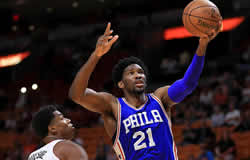 Le camerounais Joël Embiid disputera le NBA All Star Game