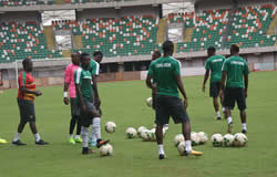 International friendlies against Kuwait : Indomitable Lions Begin Training