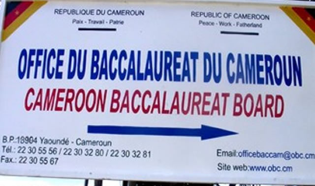 Image result for Images of Baccalaureat Board in Cameroon