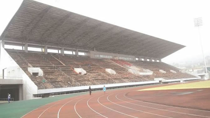 AFCON 2019: Limbe Stadium Covered