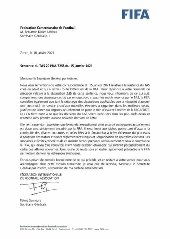 reponse_fifa_tas_annulation_election_fecafoot